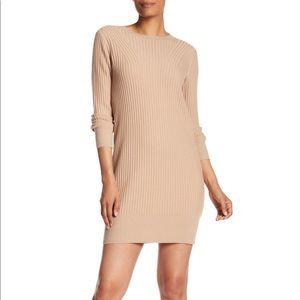 Sweater Dress - Camel - Club Monaco - Small